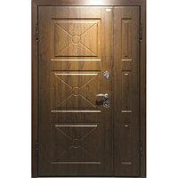 Входная дверь двустворчатая мд. 17 DLM 003 Орех