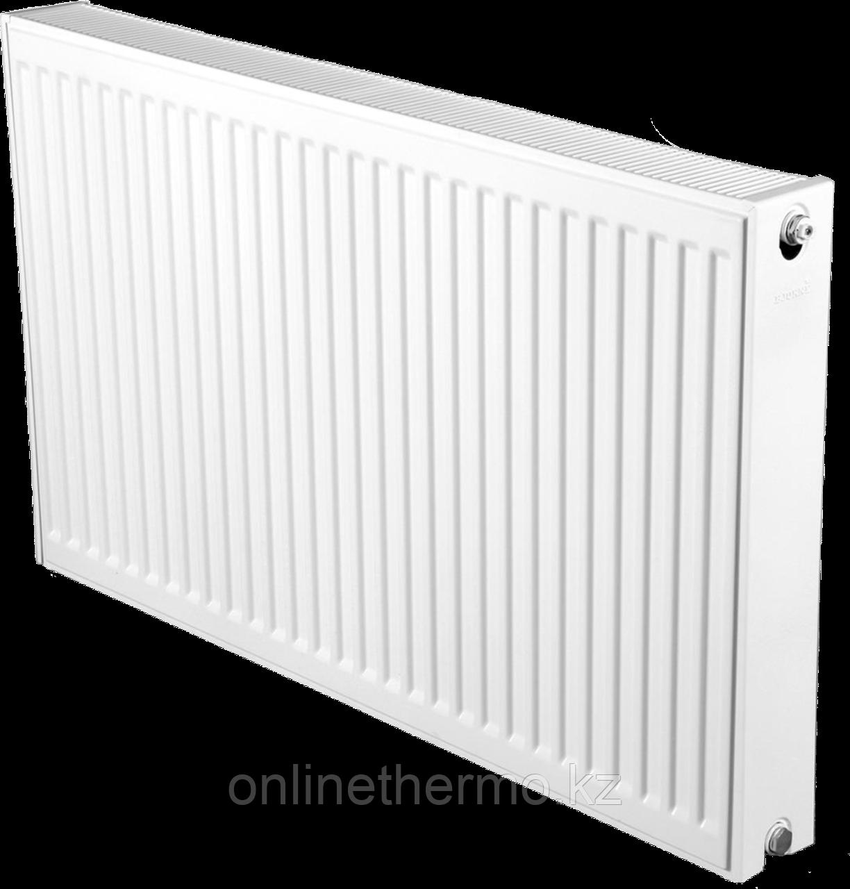 Радиатор стальной тип 22K H300мм*L400мм панельный Bjorne боковое подключение - фото 1