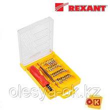 Набор отверток для точных работ 32 предмета Rexant (12-4701)