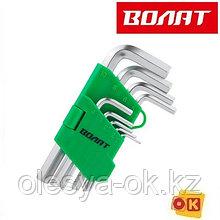 Набор ключей шестигр. 1,5-10мм 9шт коротк. ВОЛАТ (11015-09)