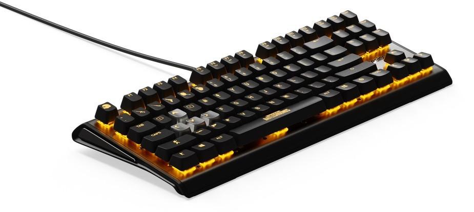Клавиатура Steelseries Apex M750 TKL PUBG Edition, чёрный