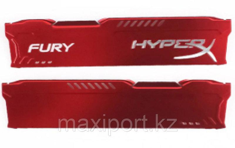 Радиаторы hyperx fury охлаждение для озу DDR комплект для оперативной памяти на 2 планки