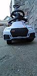 Толокар Audi RS с родительской ручкой, фото 5
