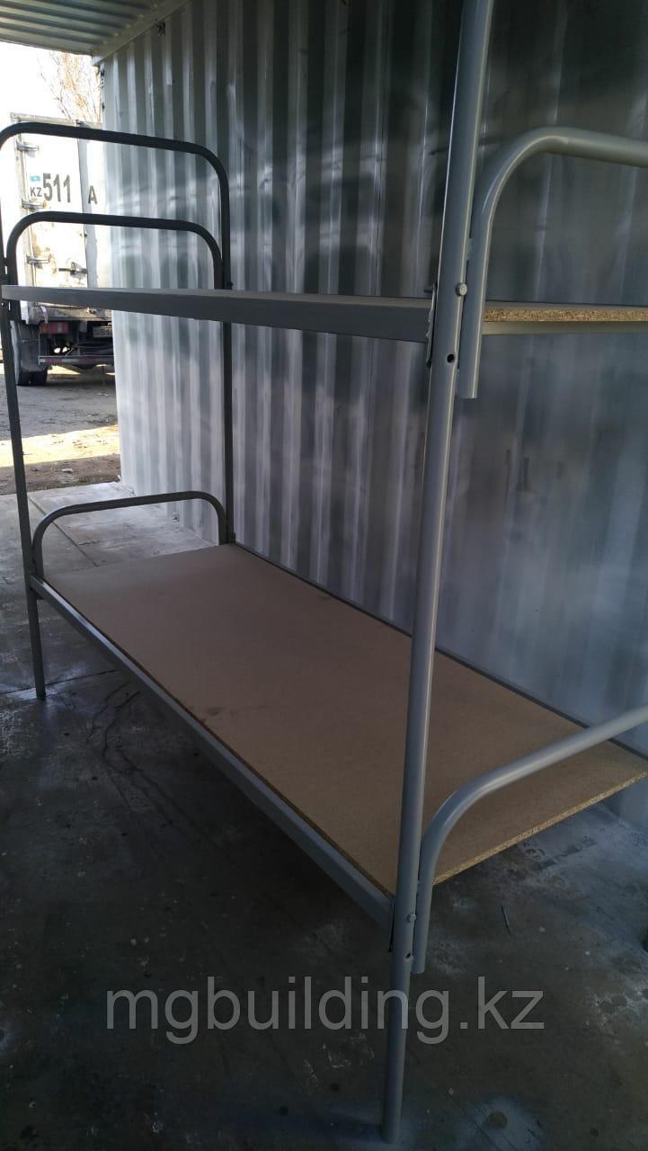 Кровать металлическая одноярусная армейская