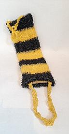 Мочалка пчелка  размер 120мм х 450мм