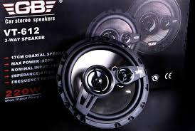 Автомобильная акустика GB VT-612