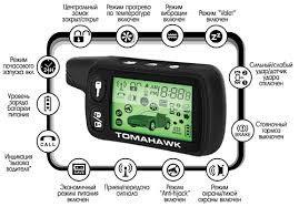 Брелок сигнализации Tomahawk TZ9010