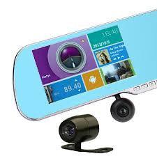 Зеркало на Андроид ЖК 5', GPS, камера регистратор