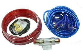 Провода для подключения сабвуфера