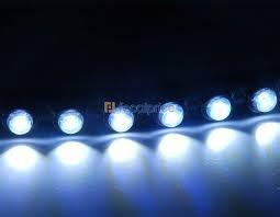 Универсальные дневные ходовые огни LED DC-12V - фото 4