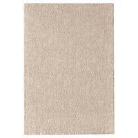 STOENSE СТОЭНСЕ Ковер, короткий ворс, белый с оттенком, 133x195 см