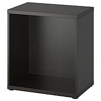 BESTÅ БЕСТО Каркас, черно-коричневый, 60x40x64 см