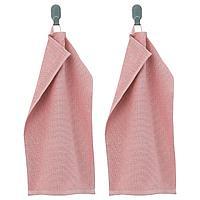 KORNAN КОРНАН Полотенце, розовый, 30x50 см