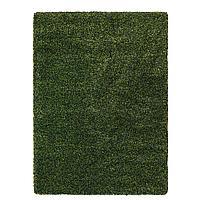 VINDUM ВИНДУМ Ковер, длинный ворс, зеленый, 200x270 см