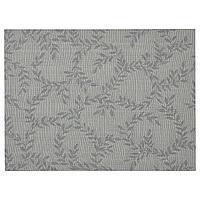 SNOBBIG СНУББИГ Салфетка под приборы, с рисунком/серый, 45x33 см