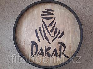 "Срез деревянной декоративной бочки ""Dakar"" H120 * D 600 мм."