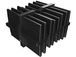 Соединитель пластиковый для алюминиевой лаги Hilst Professional