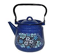 """Чайник эмалированный """"Голубика"""" 3,5 литра"""