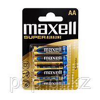 Батарейка  Maxell LR6 AA  4шт.