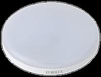 Лампа светодиодная LL-E-TAB-9W-230-4K-GX53 (таблетка, 9Вт, нейтр., GX53) Eurolux