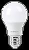 Лампа светодиодная LL-E-A60-11W-230-6K-E27 (груша, 11Вт, холод., Е27) Eurolux