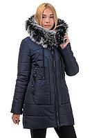 Зимняя молодежная куртка-парка для девочки -подростка Корона
