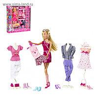 """Кукла """"Штеффи"""" с одеждой и аксессуарами"""