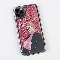 Чехол для телефона iPhone 11 PRO с блёстками внутри Ambition, 7.14 × 14.4 см