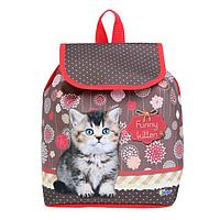 Рюкзак детский СР-01, 29*22*13,5, мал Funny kitten 56528