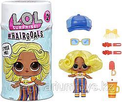 Кукла LOL Surprise Hairgoals 2 волна кукла новый выпуск