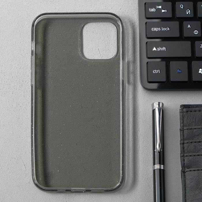 Чехол Activ SC123, для Apple iPhone 12/12 Pro, силиконовый, чёрный - фото 2