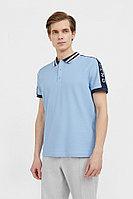 Поло мужское Finn Flare, цвет голубой, размер XL