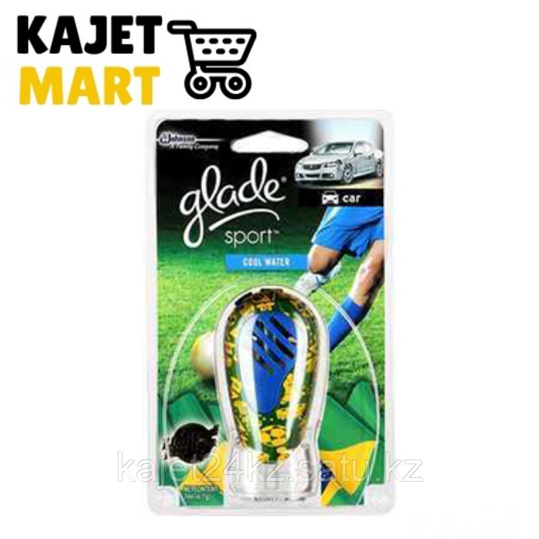 Glade auto освежитель Cool Water футбольная серия 7мл*12