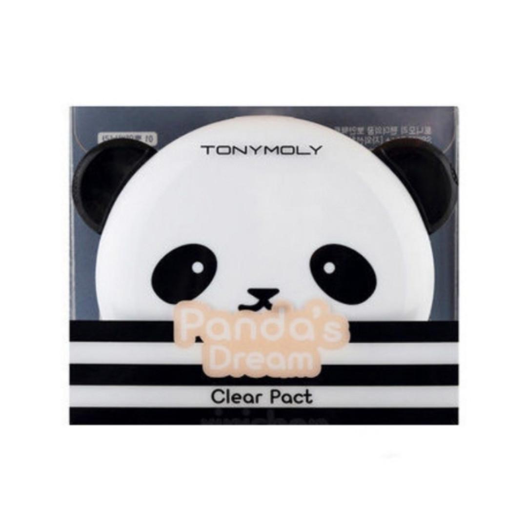 Матирующая пудра Panda's Dream Clear Pact SPF25+/PA++ 10g (Tony Moly) (#1 Vanilla)