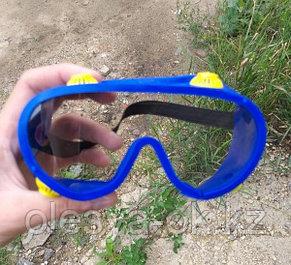 Очки защитные закрытого типа с непрямой вентиляцией, поликарбонат Россия Сибртех, фото 3