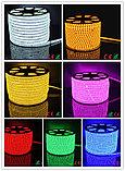 Ленты светодиодные 220 в. В ПВХ оболочке  LED лента SMD 5050. 9 цветов, фото 8