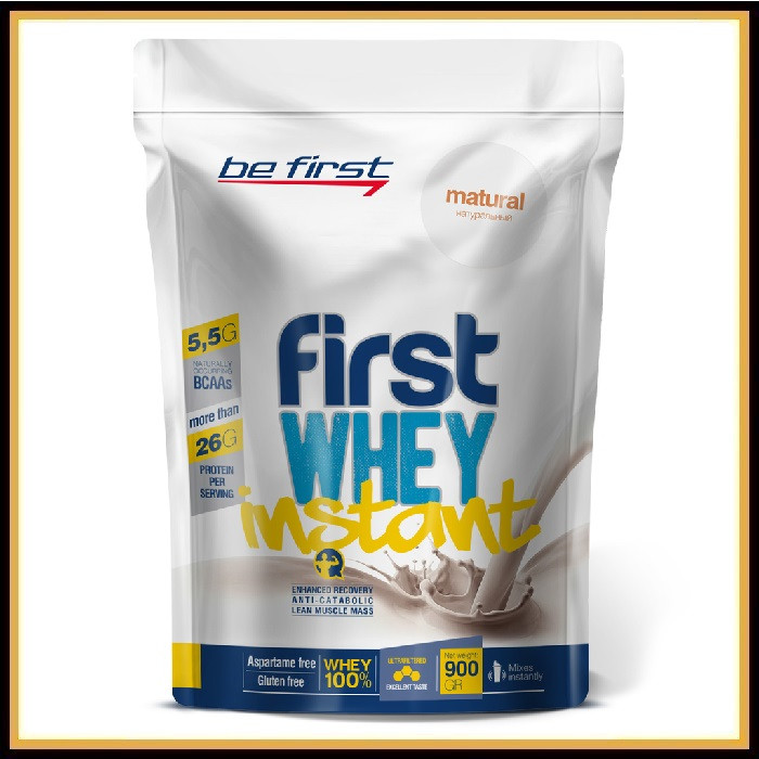Be First Whey Instant 900гр (шоколад)
