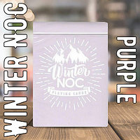 Winter NOC purple Playing Cards