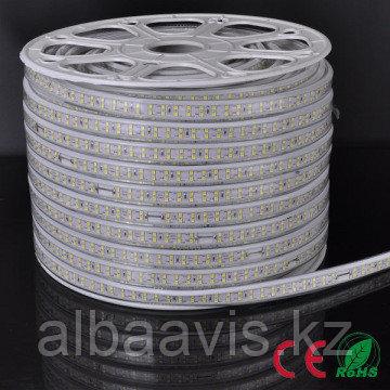 Ленты светодиодные 220 в. В ПВХ оболочке  LED лента SMD 2835
