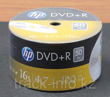 Диски DVD+R 16x  HP