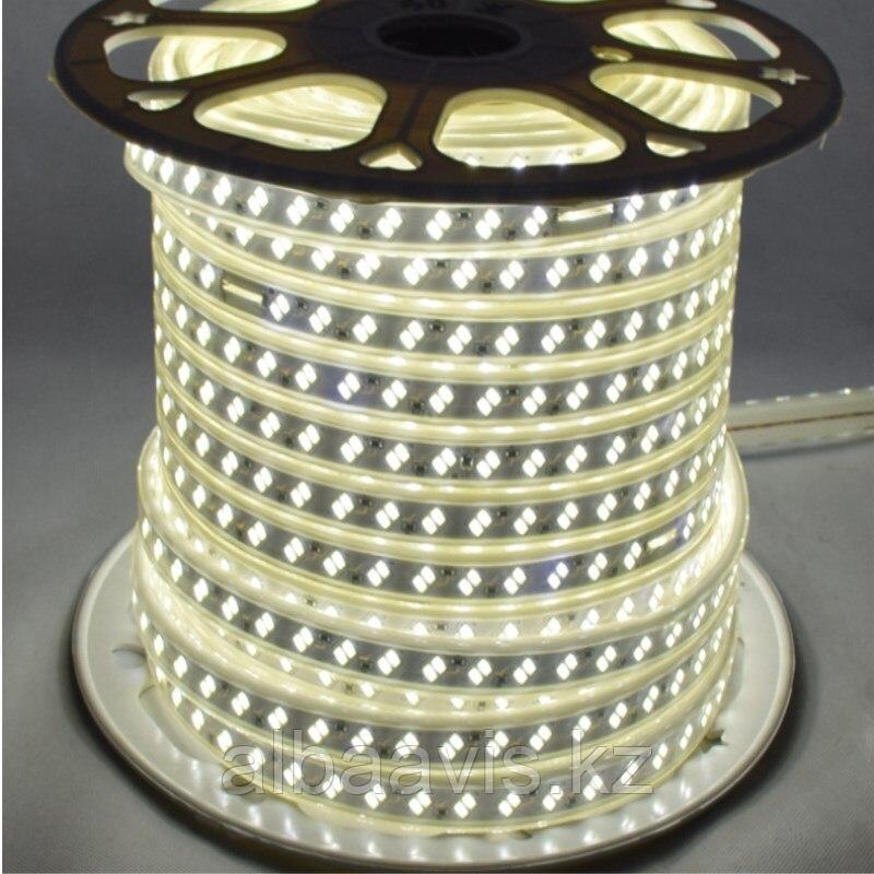 Ленты светодиодные 220 в. В ПВХ оболочке  LED лента SMD 5730
