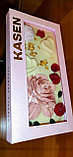 Белый шоколад ручной работы с клубникой, малиной, фисташками и пищевым золотом, фото 2
