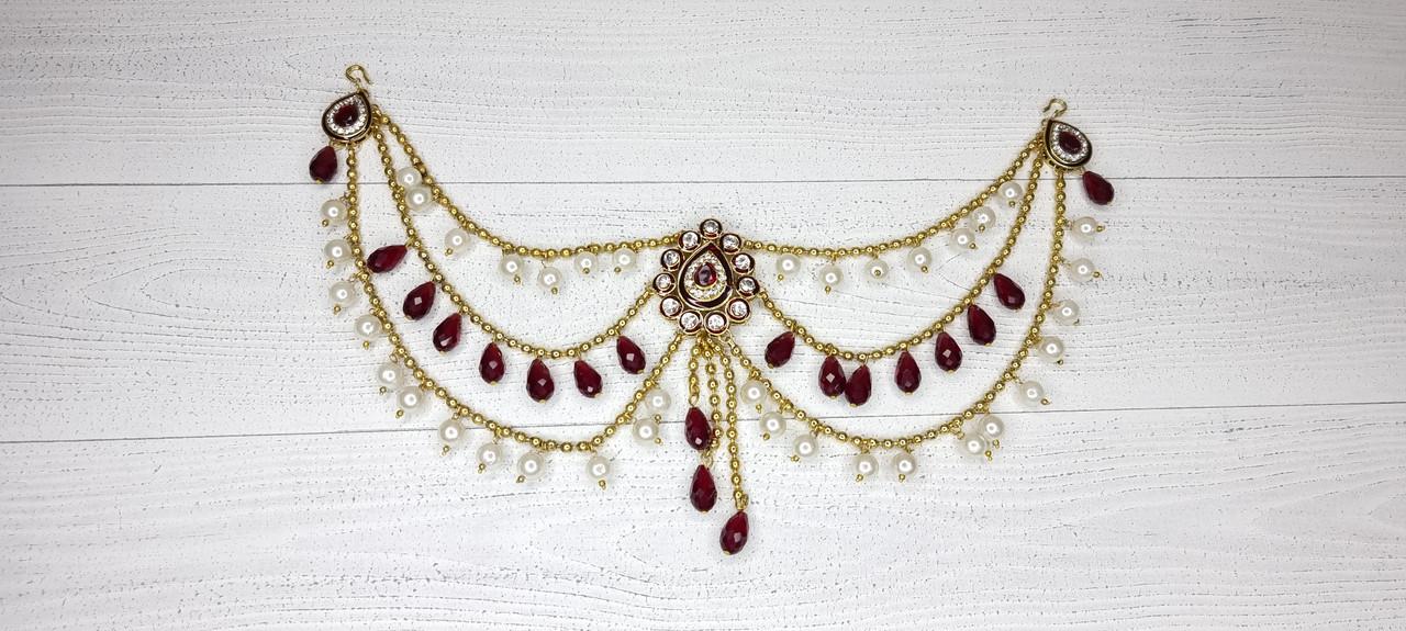 Тика - индийское украшение на голову (в ассортименте), 1шт