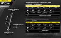 Фонарь NITECORE P10V2 CREE XP-L2 V6 LED