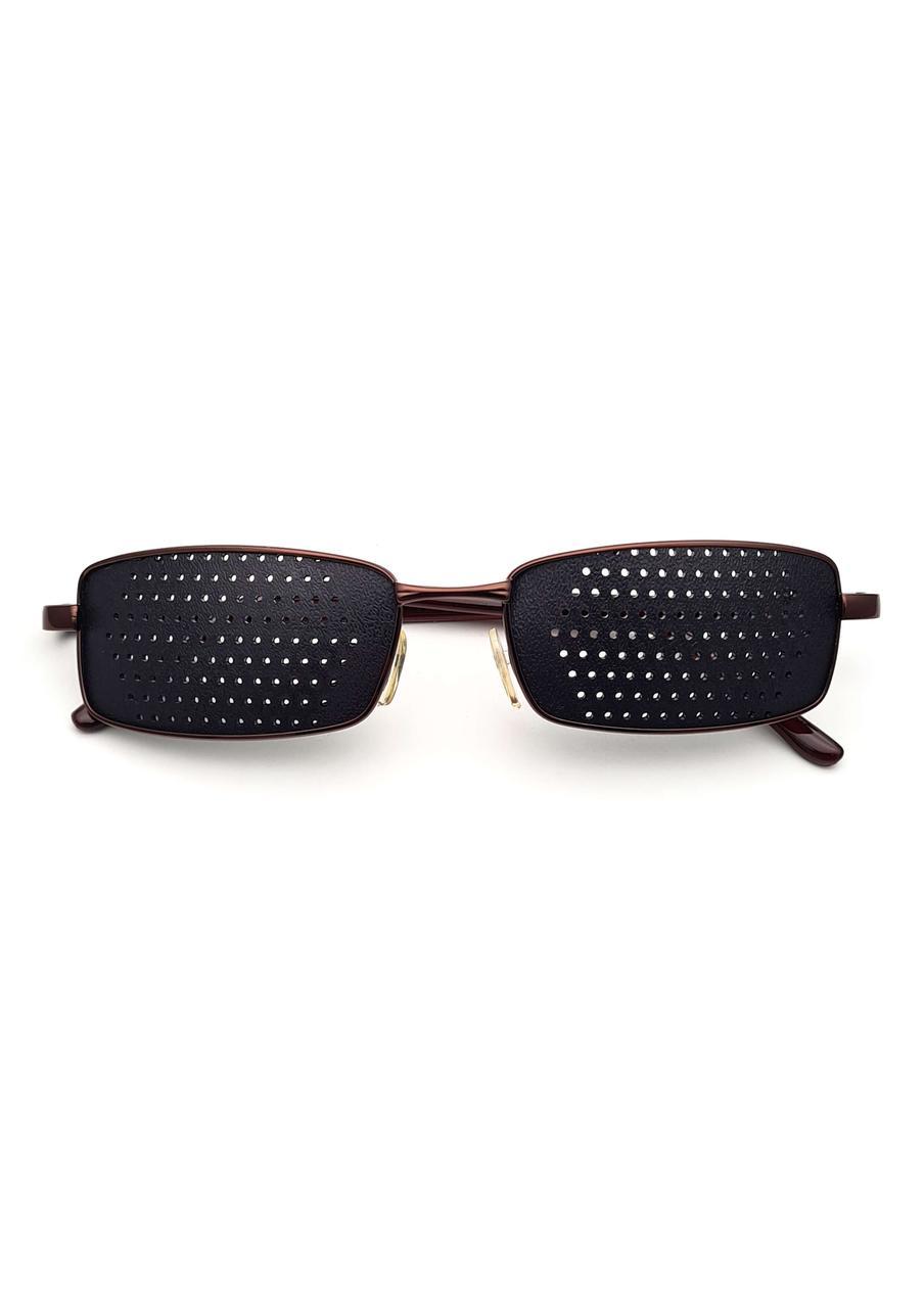 Очки тренажеры / перфорационные очки в МЕТАЛЛЕ