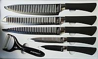 """Набор кухонных ножей """"Everrich"""" ER-0194, 6 предметов"""