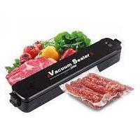 Вакуумный упаковщик продуктов для дома Vacuum Sealer (Черный)