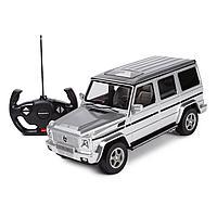 Машинка радиоуправляемая Rastar Mercedes-Benz G55 1:14 серебряная