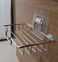Мыльница металлическая настенная (Решетка)