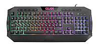Клавиатура проводная игровая Defender Gelios GK-174DL ENG/RUS